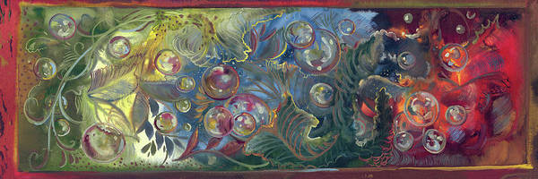 Painting - Elemental Bubbles by Sheri Jo Posselt