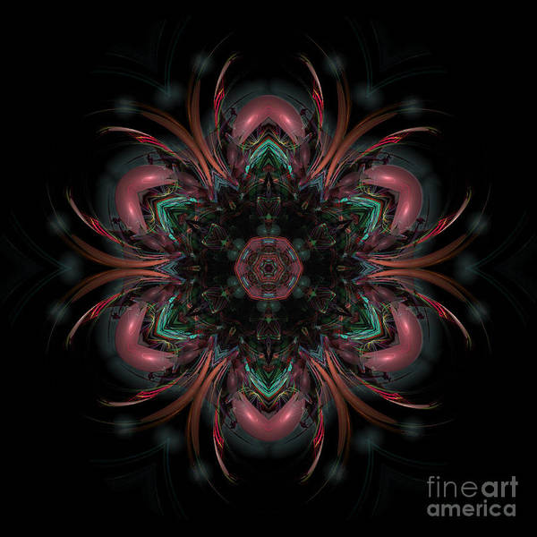 Digital Art - Elemental Synthesis by Rhonda Strickland