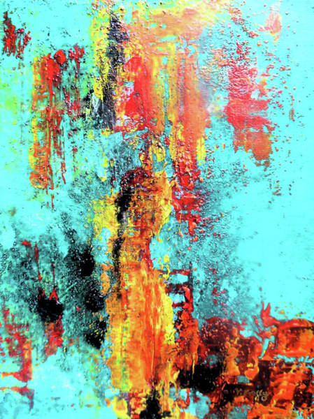 Painting - Elemental By V.kelly by Valerie Anne Kelly