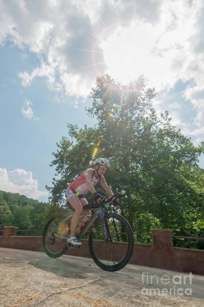 Photograph - Eleonore Cycling In Sunburst by Dan Friend