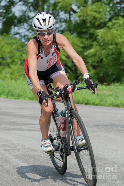 Photograph - Eleonore Cycling On A Turn by Dan Friend