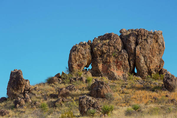 Photograph - Elephant Rock Us Route 67 by SR Green
