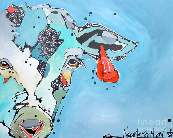 Painting - Eleven 11 by Nicole Gaitan