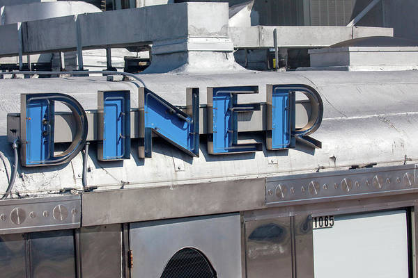 Wall Art - Photograph - Eleventh Street Diner - South Beach by Art Block Collections