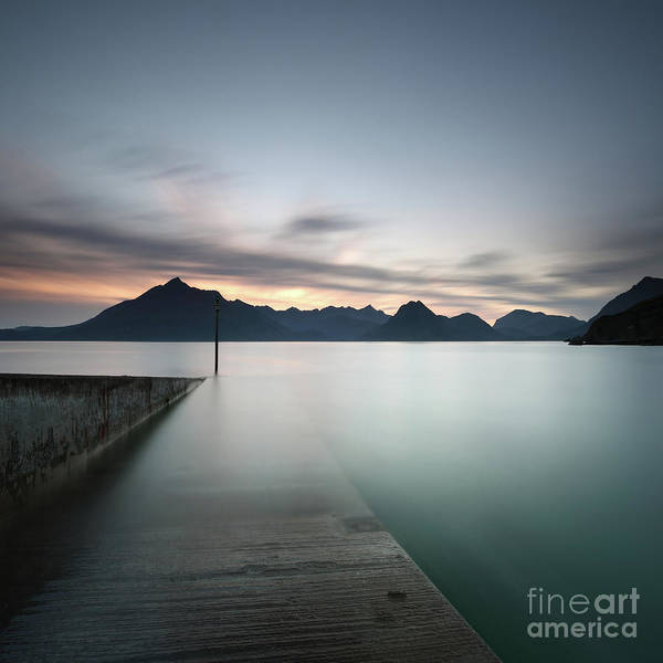 Photograph - Elgol At Sunset by Maria Gaellman