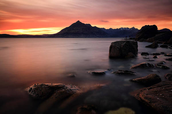 Photograph - Elgol Rocks by Grant Glendinning