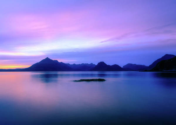 Photograph - Elgol Sunset by Rob Davies