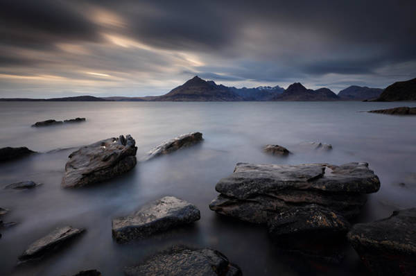 Photograph - Big Rocks On Elgol by Grant Glendinning