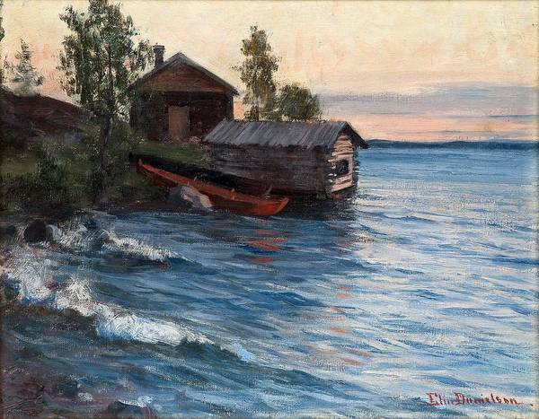 Archipelago Painting - Elin Danielson-gambogi, Summer Evening In The Archipelago. by Celestial Images