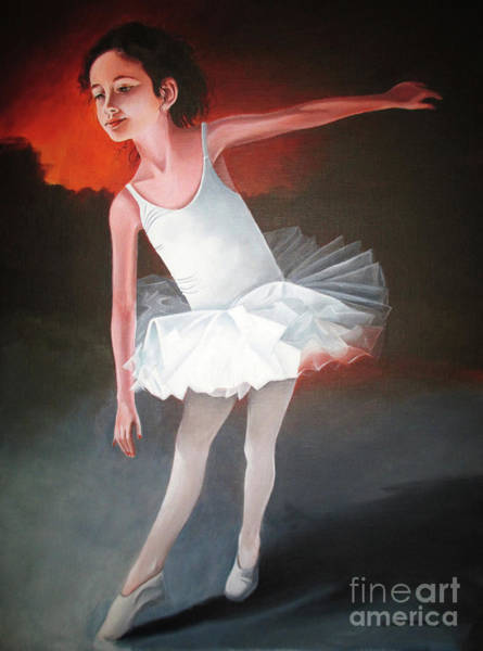 Wall Art - Painting - Little Dancer by Christian Simonian