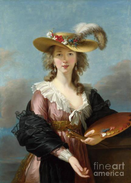 Painting - Elisabeth Vigee-lebrun  by Granger