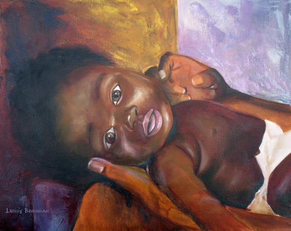 Wall Art - Painting - Elisha by Lewis Bowman
