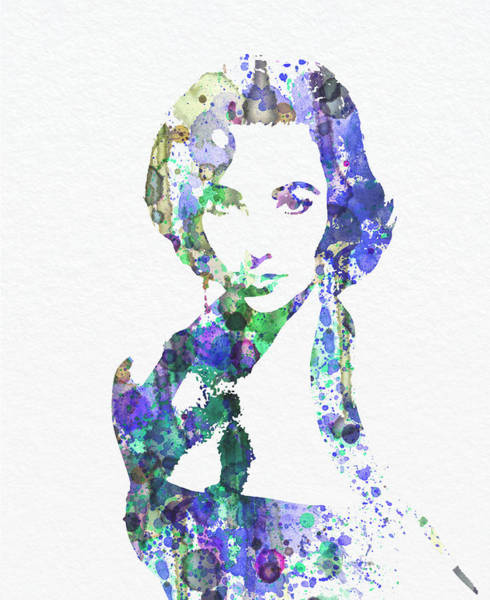 1960 Wall Art - Digital Art - Elithabeth Taylor by Naxart Studio