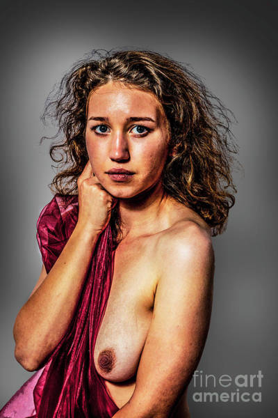 Photograph - Eliza Topless. by Nigel Dudson