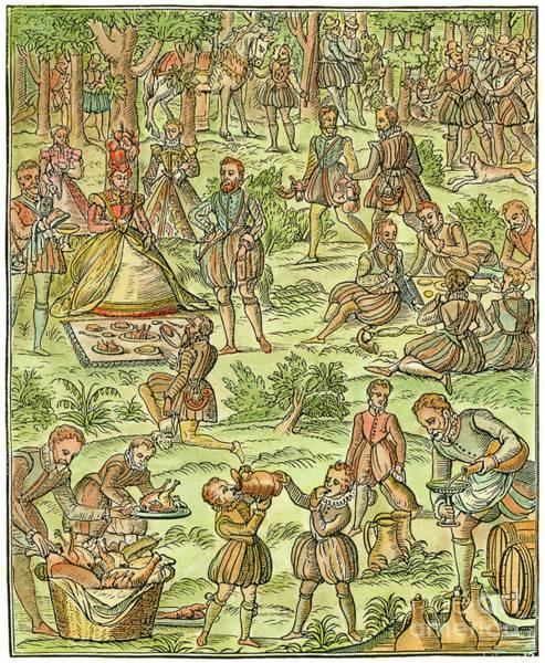 Drawing - Elizabeth I, 1533-1603 by Granger