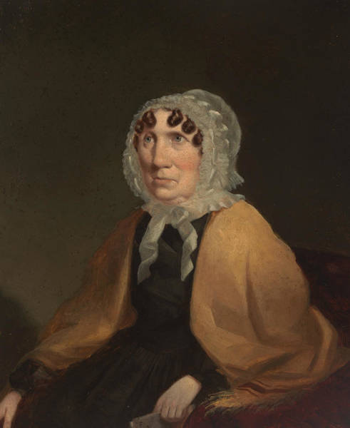 Painting - Elizabeth, Mrs Henry Dowling by Robert Dowling