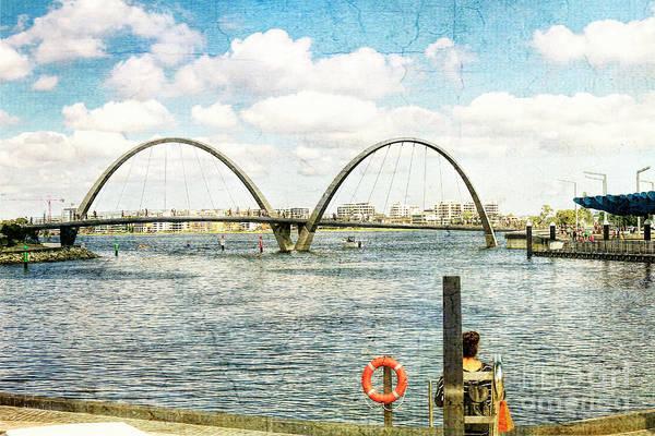 Photograph - Elizabeth Quay, Perth, Western Australia by Elaine Teague