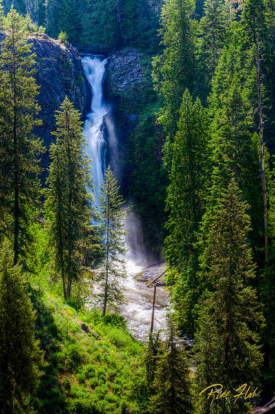 Photograph - Elk Creek Falls by Rikk Flohr