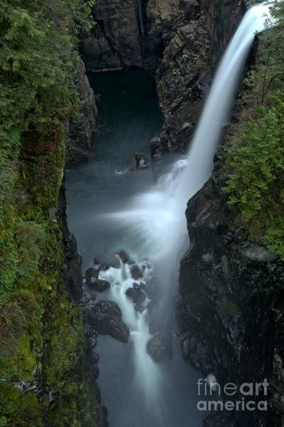 Photograph - Elk Falls British Columbia by Adam Jewell