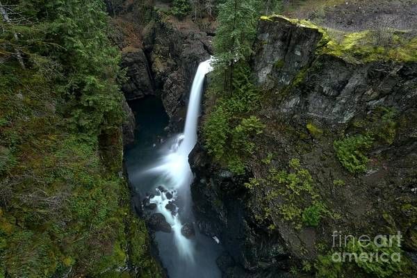 Photograph - Elk Falls Landscape by Adam Jewell