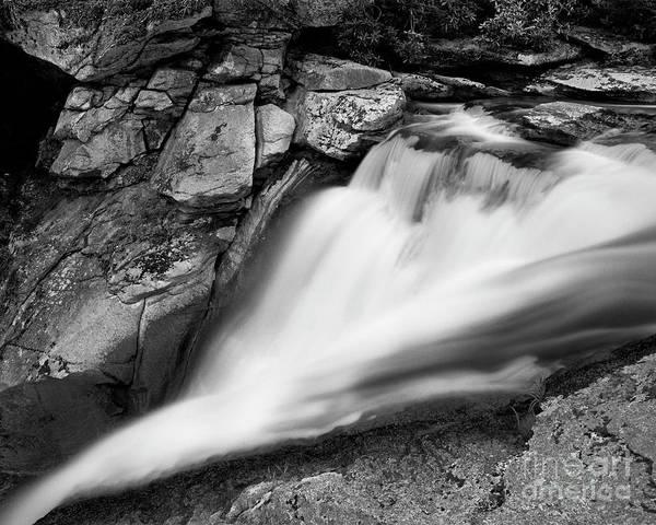 Photograph - Elk River Falls 1 by Patrick M Lynch