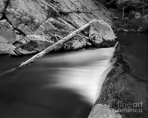 Photograph - Elk River Falls 5 by Patrick M Lynch