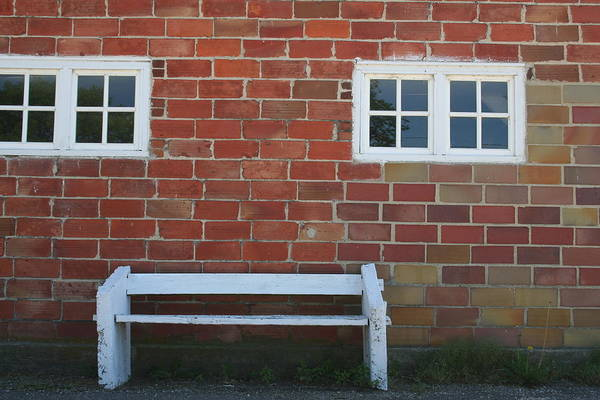 Photograph - Elkader Bench by Dylan Punke