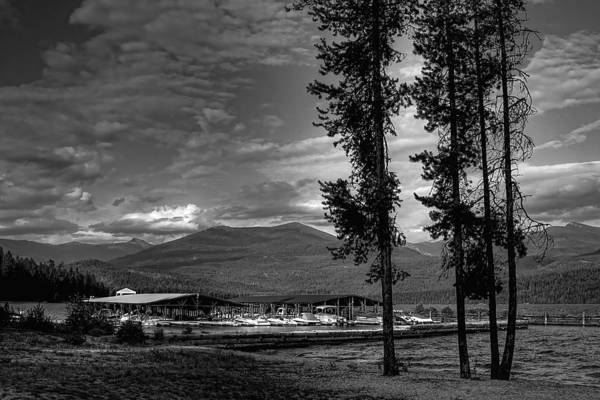 Photograph - Elkins Marina On Priest Lake by David Patterson
