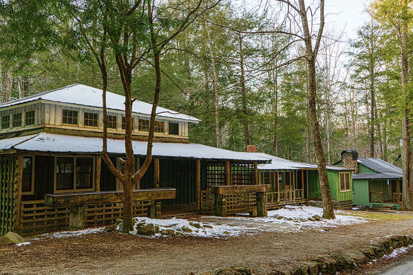 Photograph - Elkmont Cabins by Sharon Popek