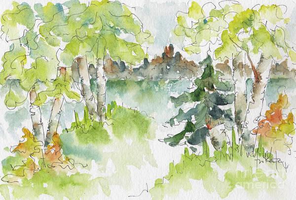 Painting - Elkridge Greens by Pat Katz