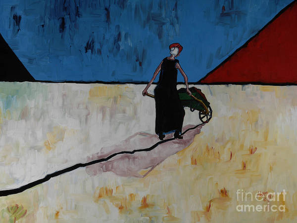 Ella Going Home 36x40 Art Print