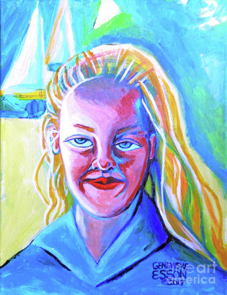 Wall Art - Painting - Ella Jane by Genevieve Esson