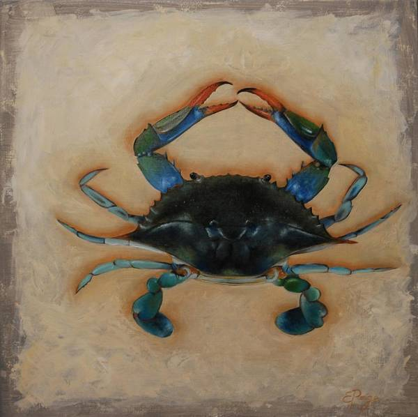 Painting - Ellen's Crab by Emily Page