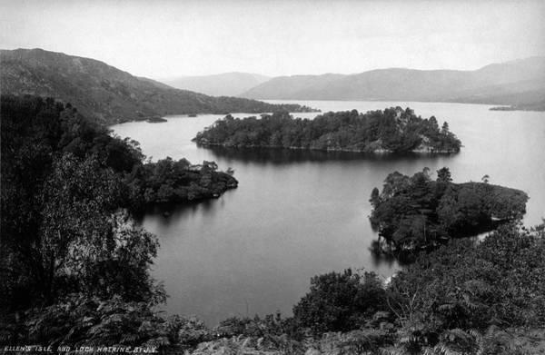 Photograph - Ellens Isle And Lock Katrine by Lee Santa
