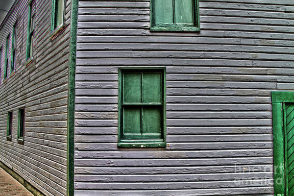 Photograph - Ellicott City Windows by William Norton