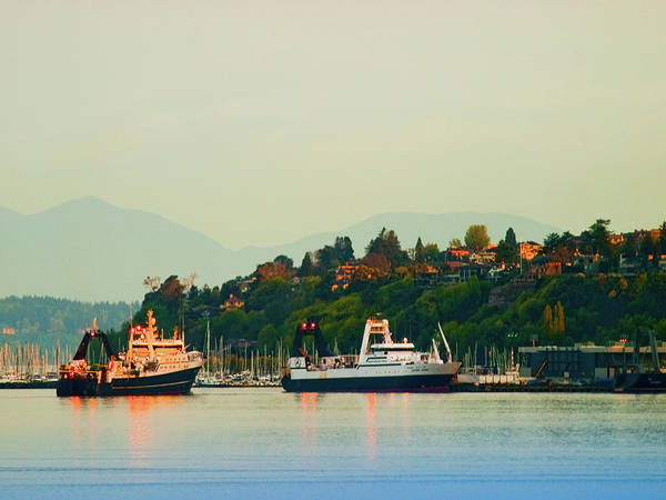 Elliot Bay Wall Art - Photograph - Elliot Bay by Jim DeLillo