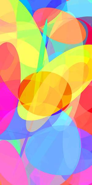 Oval Digital Art - Ellipses 1 by Chris Butler