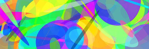 Oval Digital Art - Ellipses 10 by Chris Butler