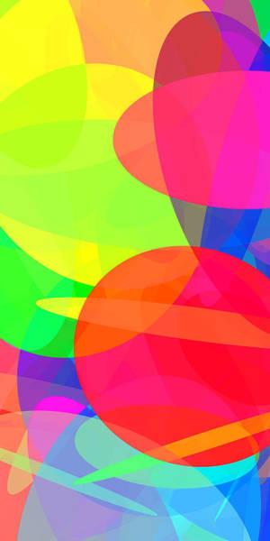 Oval Digital Art - Ellipses 11 by Chris Butler