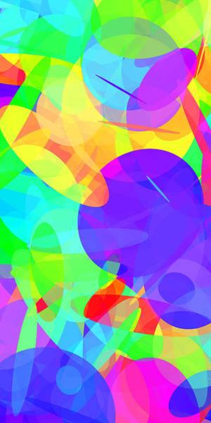 Oval Digital Art - Ellipses 16 by Chris Butler