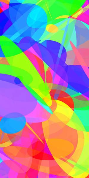 Oval Digital Art - Ellipses 17 by Chris Butler