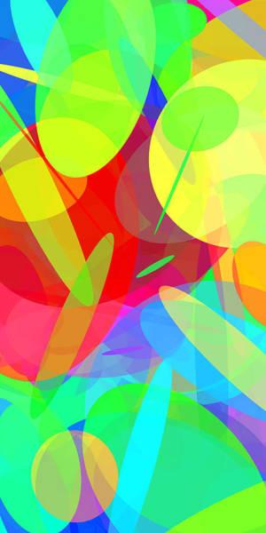 Oval Digital Art - Ellipses 18 by Chris Butler