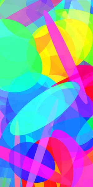Oval Digital Art - Ellipses 19 by Chris Butler