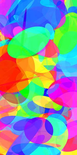 Oval Digital Art - Ellipses 20 by Chris Butler