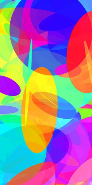 Oval Digital Art - Ellipses 21 by Chris Butler