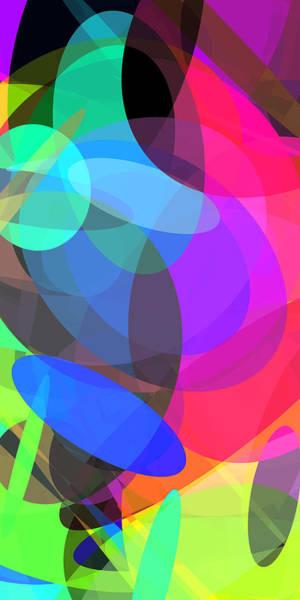 Oval Digital Art - Ellipses 3 by Chris Butler
