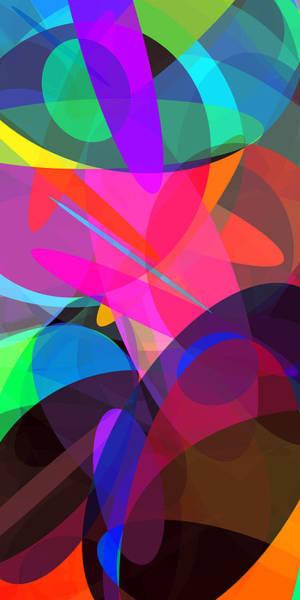 Oval Digital Art - Ellipses 4 by Chris Butler