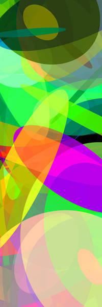 Oval Digital Art - Ellipses 5 by Chris Butler