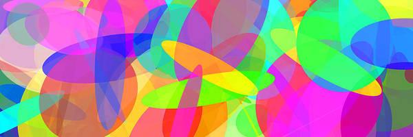 Oval Digital Art - Ellipses 8 by Chris Butler