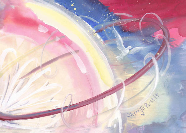 Painting - Elliptical Orbit by Sheri Jo Posselt